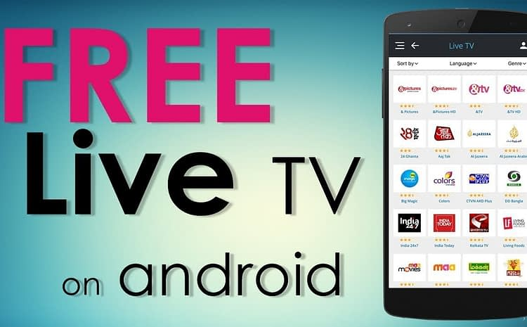Android Live TV Applications